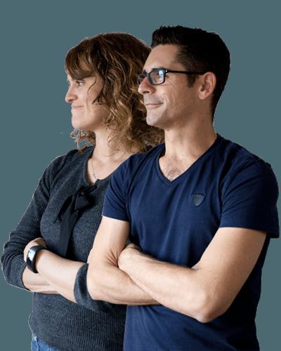 Gracianne et Stéphane de l'agence Graciet & Co