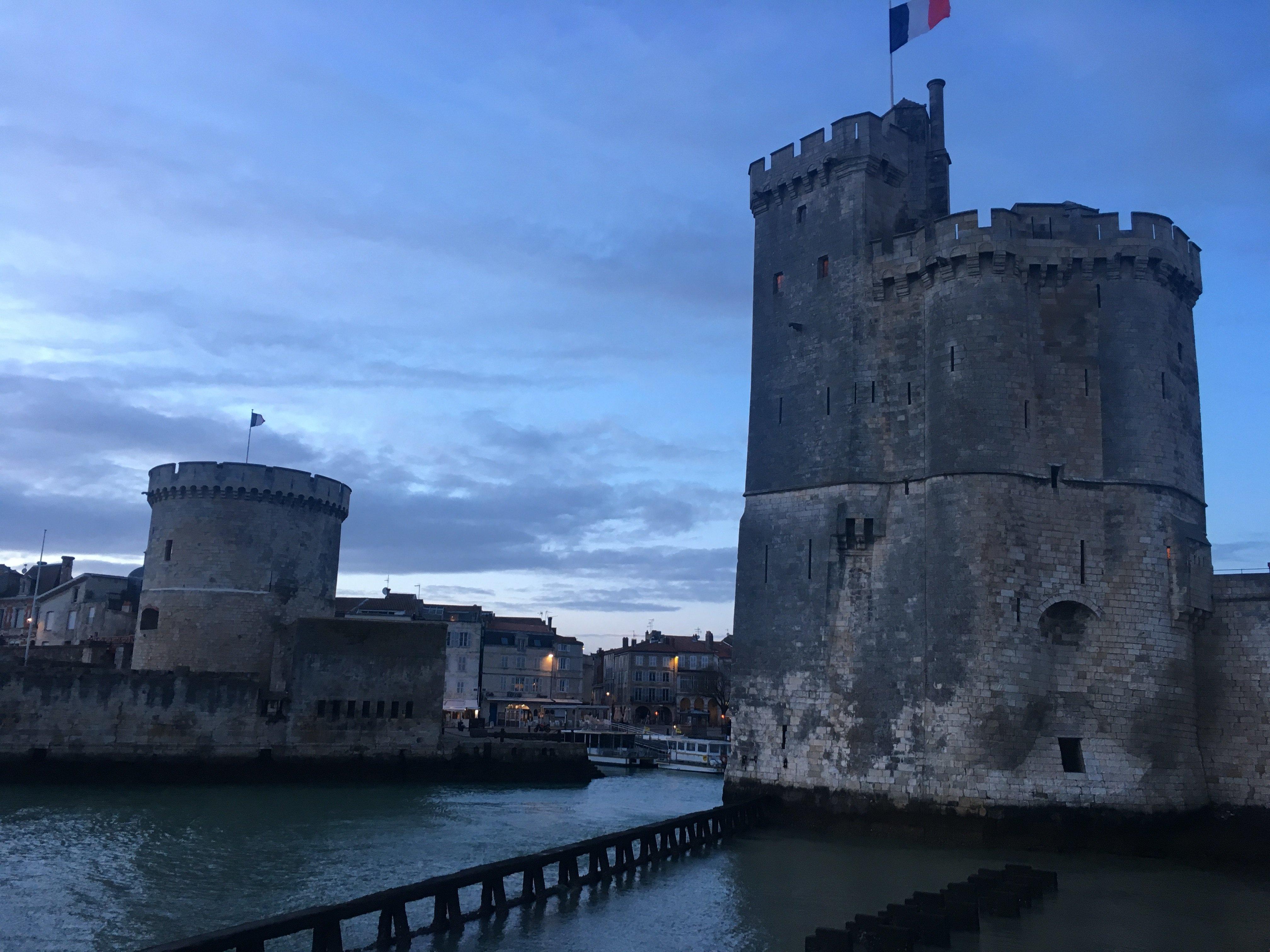 Les deux tours de La Rochelle