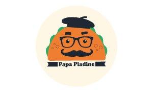 Logo client Papa Piadine