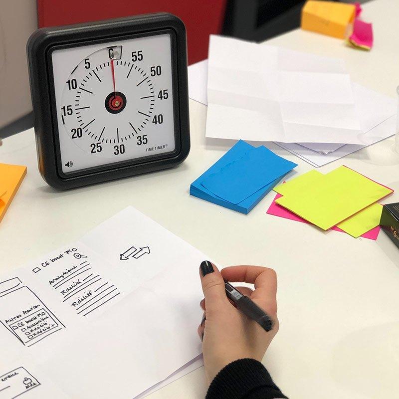 Atelier d'UX design