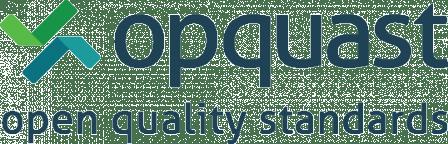"""Logo Opquast """"Maîtrise de la qualité en projet Web"""""""